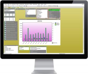 Multiplo Software Gestion Distribucion y Ferreteria Estadisticas Avanzadas